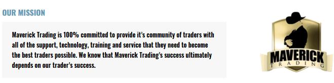 maverick trading mission