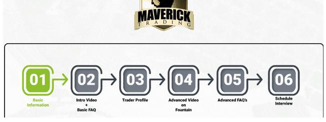 maverick trading platform