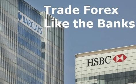 How big banks trade forex