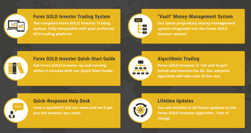 Forex Gold Investor Robot support