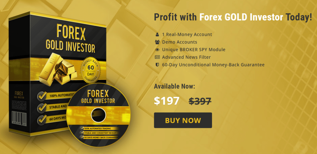 Forex Gold Investor Robot the offer