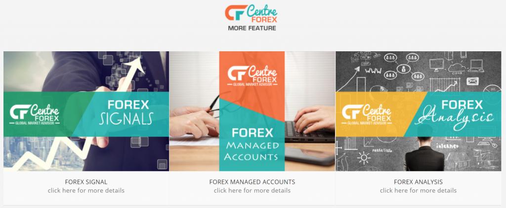 Centre Forex presentation
