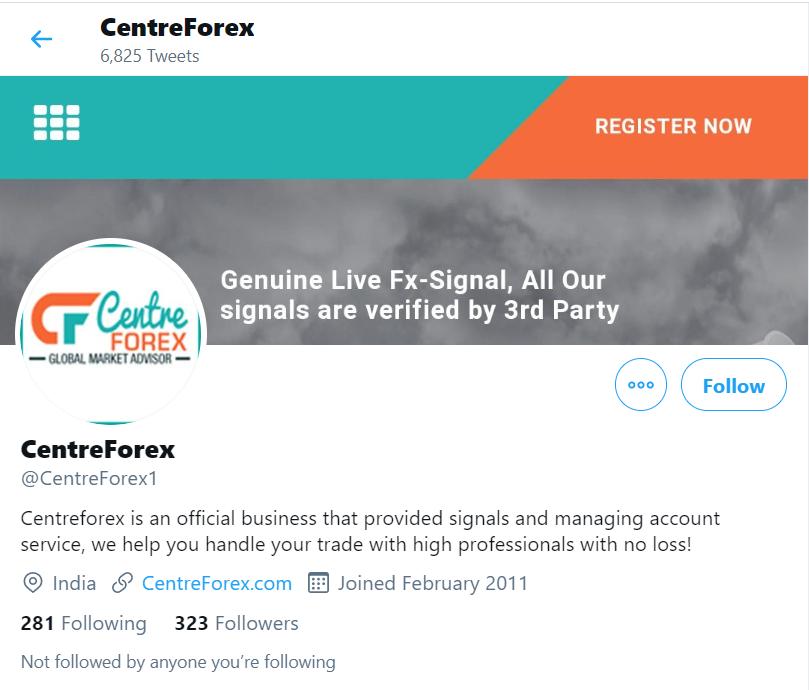 Centre Forex Company Profile