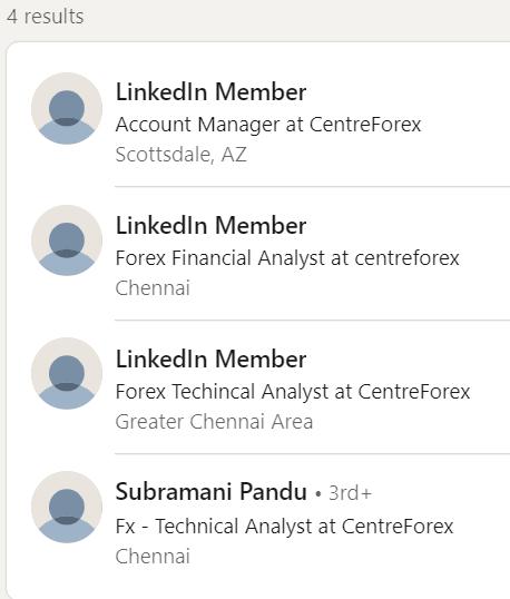 Centre Forex LinkedIn