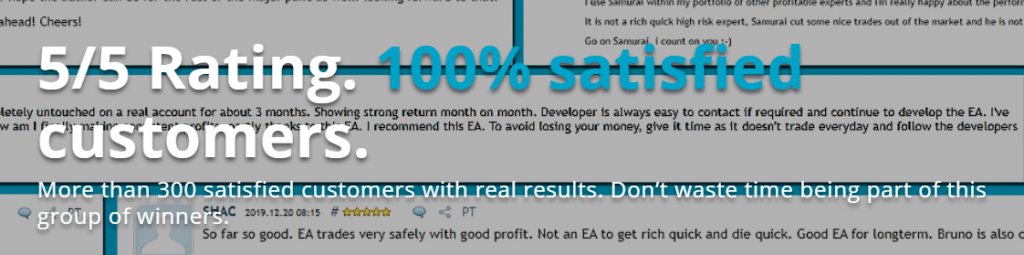 Ninja Scalper  - 100% satisfied customers