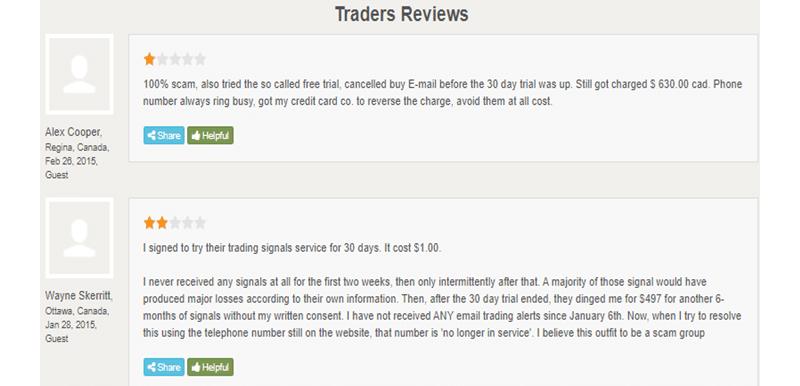 Thunder 30 Signals Customer Reviews