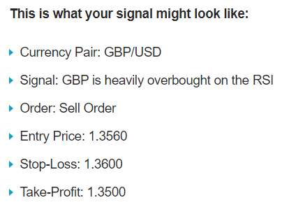 Learn2Trade signals format