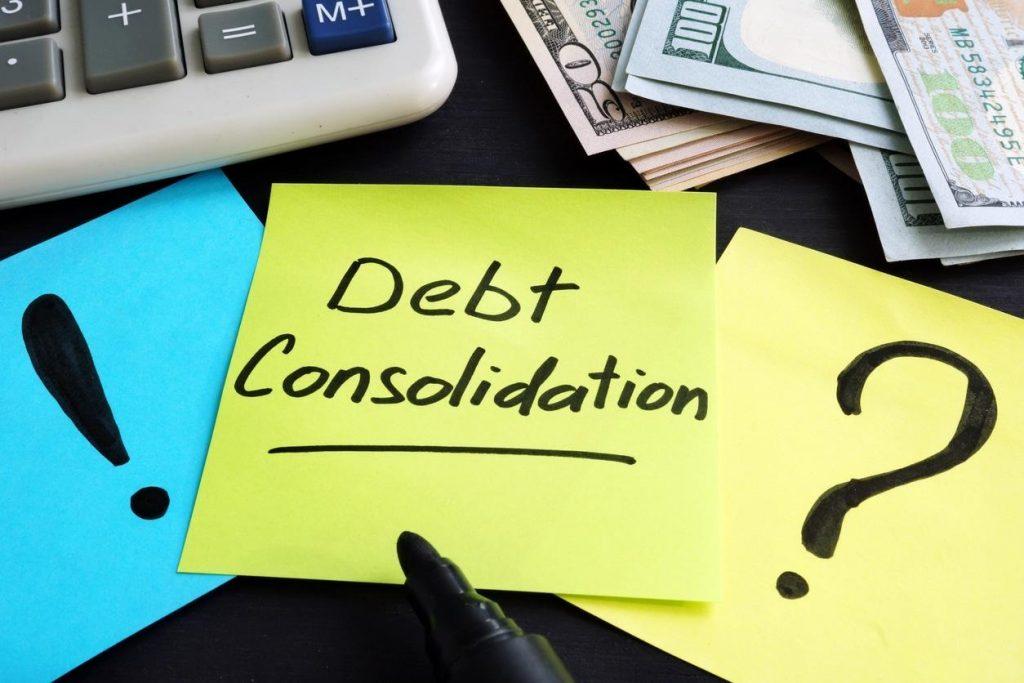 Consider debt consolidation