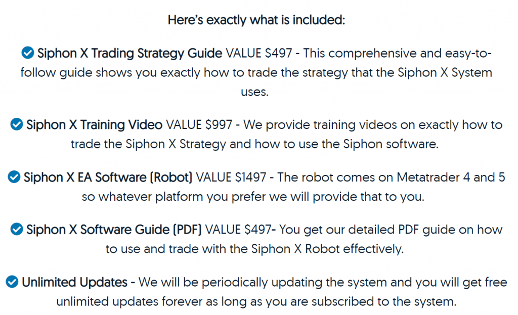 Siphon-X price