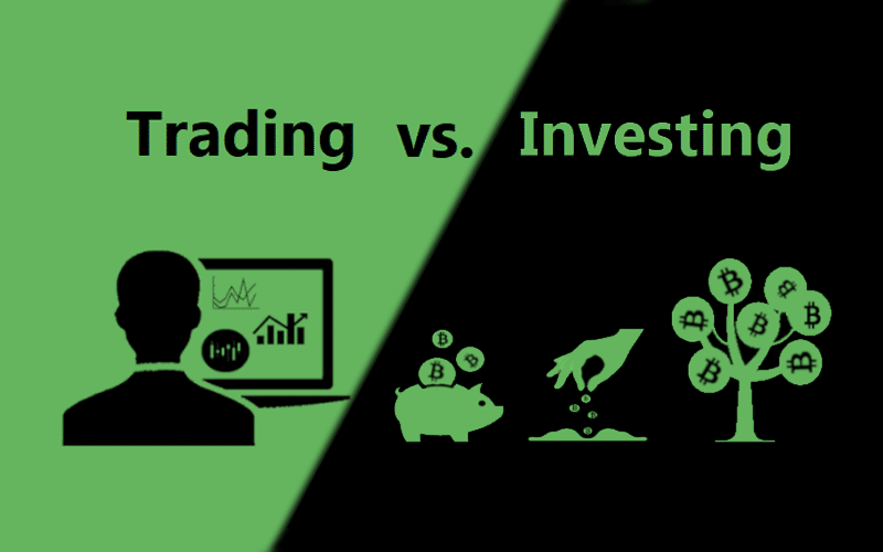 Differences Between Trading and Investing