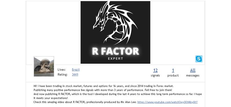 R Factor EA - Company Profile