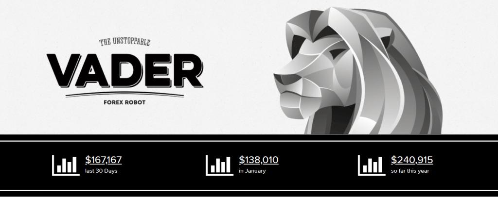 Vader Forex Robot presentation
