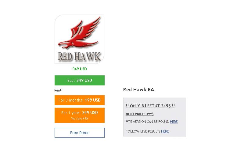 Red Hawk Robot price