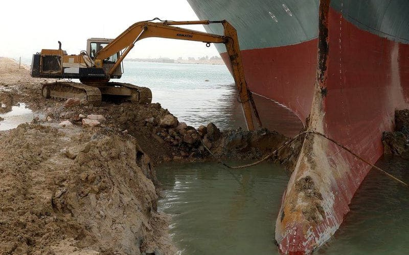 Dislodging Ever Given From Suez Canal Likely To Take Longer Than Expected