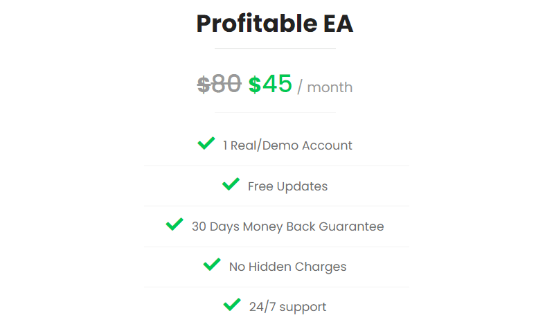Green Graph EA Price