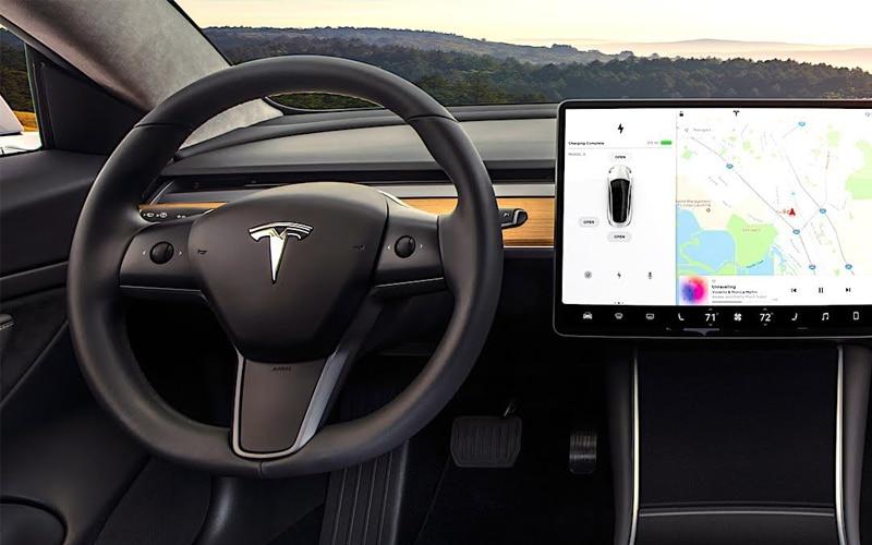 Police Say Nobody Behind Wheel In Tesla Texas Crash That Left Two Dead