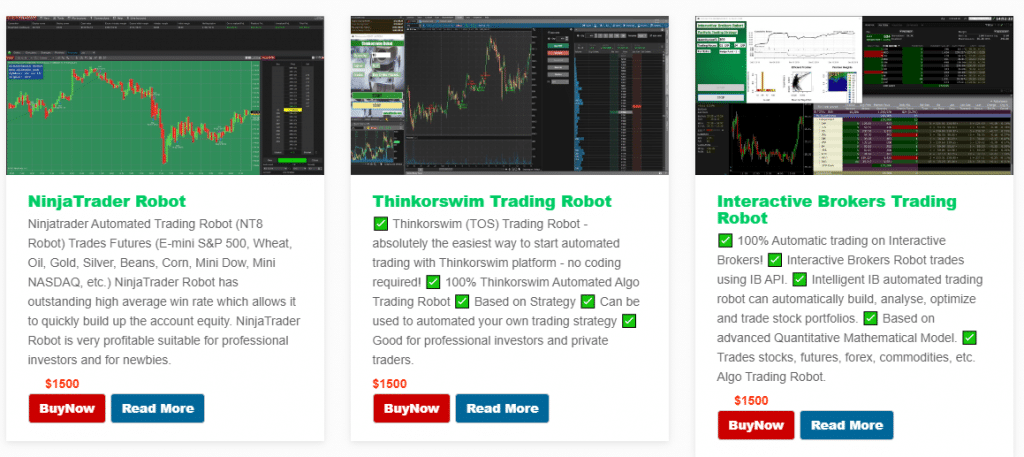 Altredo Forex Robots. There are many products that cost $1500 or more available.
