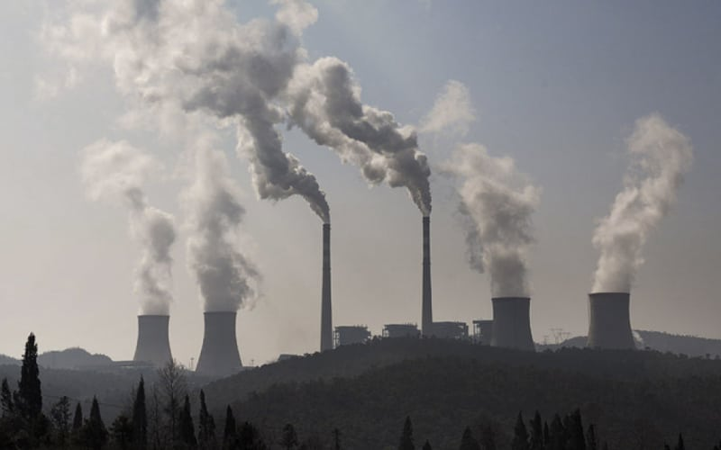 China Dubbed 'Pollution King' as Emissions Surpass the Rest of the Developed World Altogether