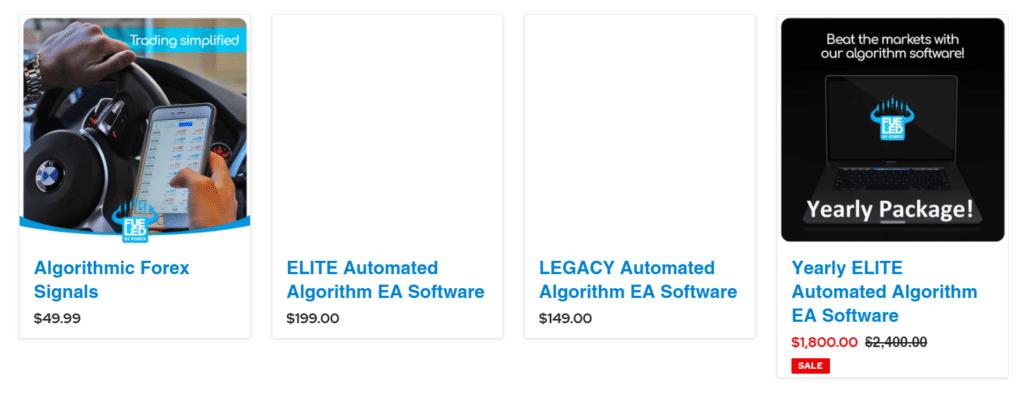 ELITE Automated Algorithm EA Price