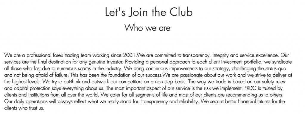 FX Deal Club presentation