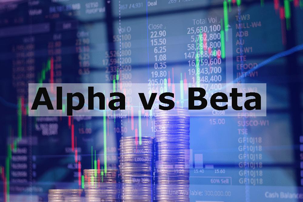 Alpha vs Beta in Stock Investing
