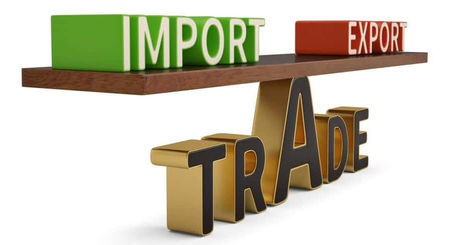 Balance of trade (BoT)