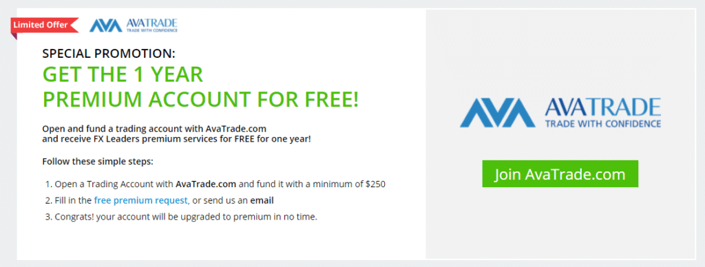 FXLeaders. We can register a real account on Avatrade.