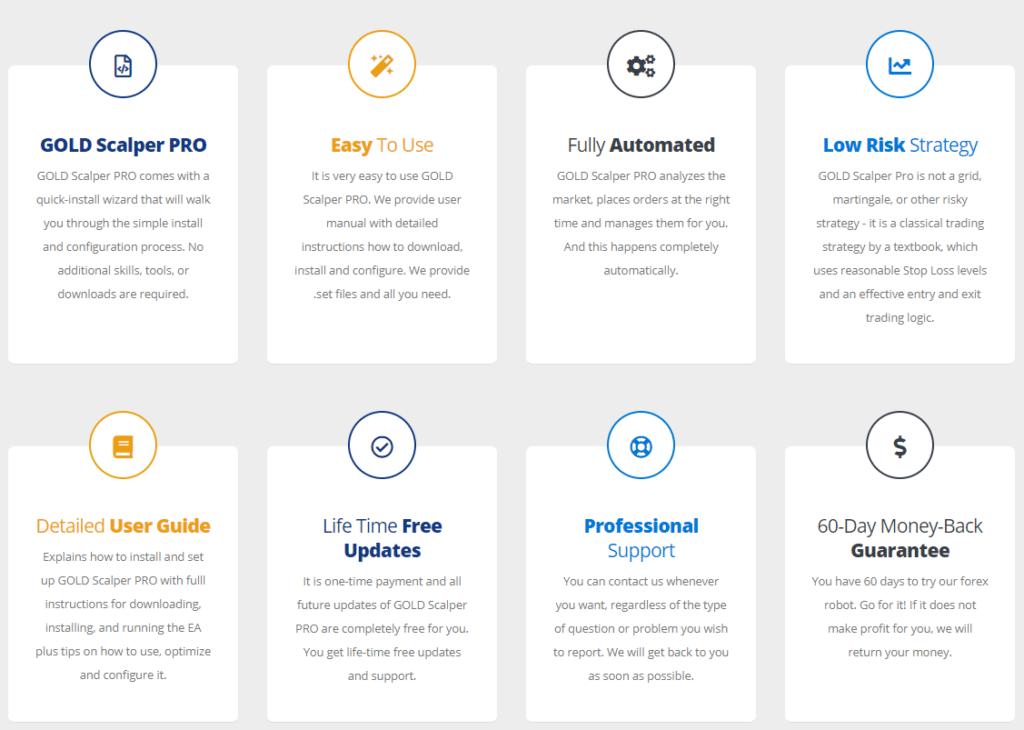Gold Scalper Pro - free updates