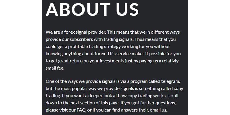 Ohlsen Trading - about us
