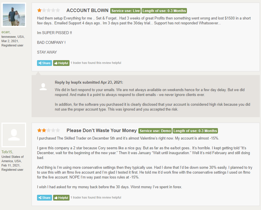 The Fund Trader People Feedback