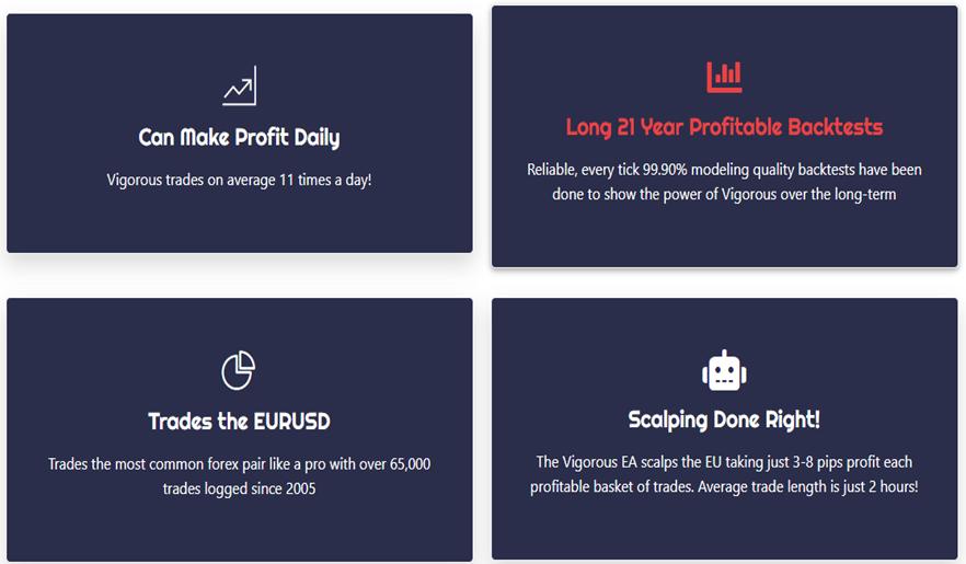 Vigorous EA - Main Features