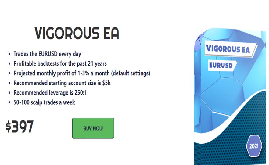 Vigorous EA Price