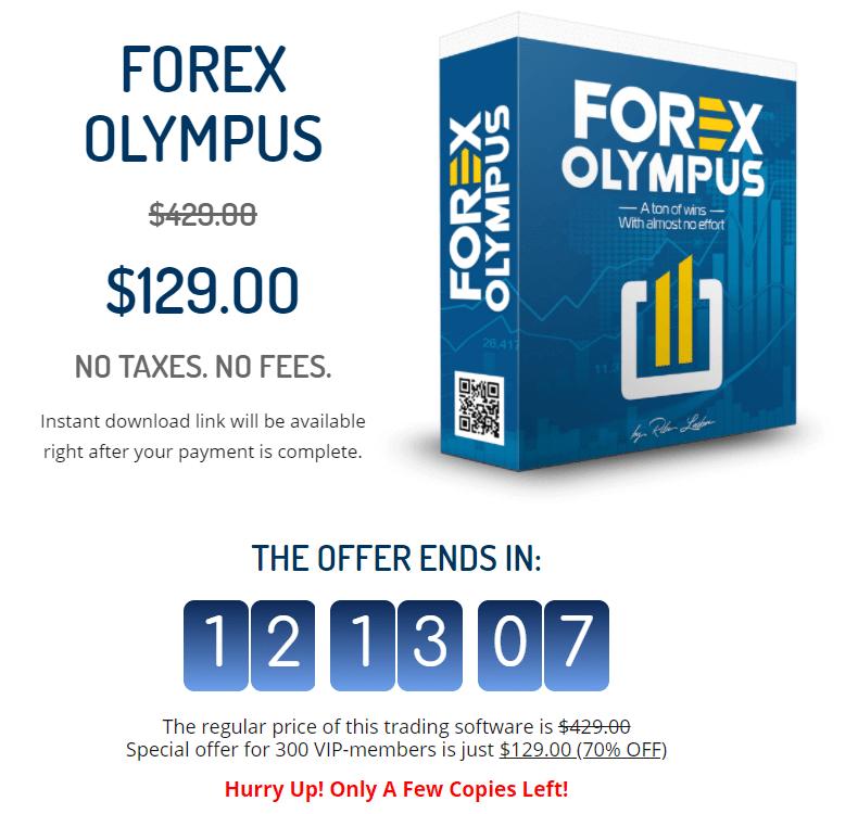 Forex Olympus Price