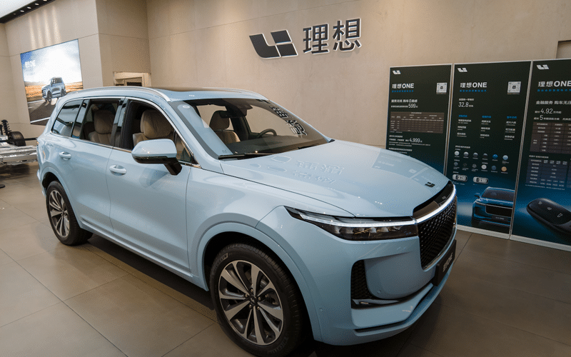 China's Li Auto Hits Record Monthly Deliveries in June