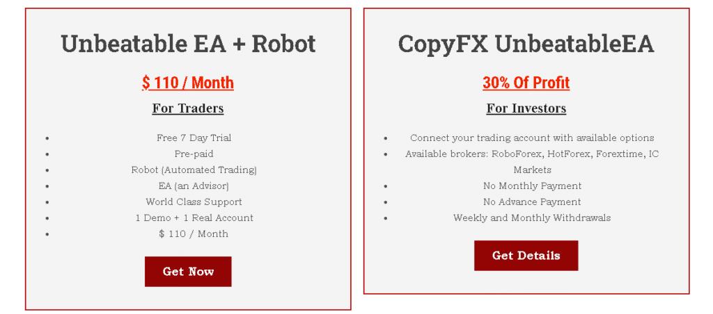 Unbeatable EA price
