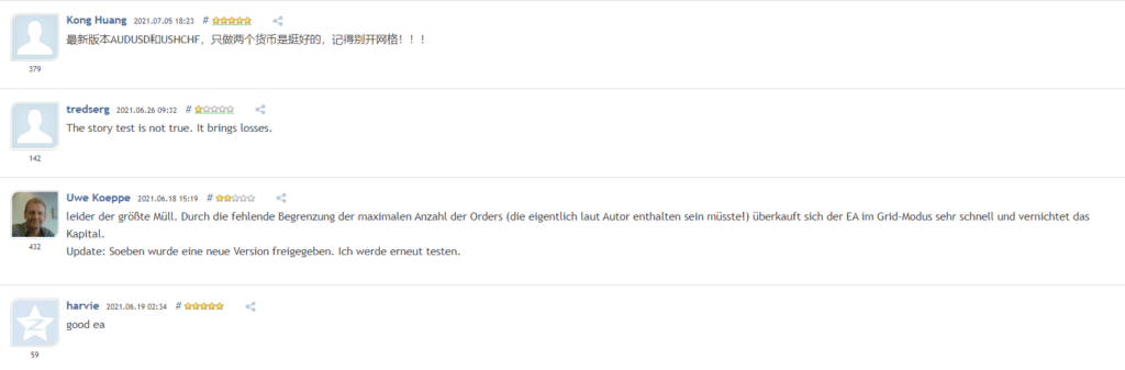 Zenith Customer Reviews