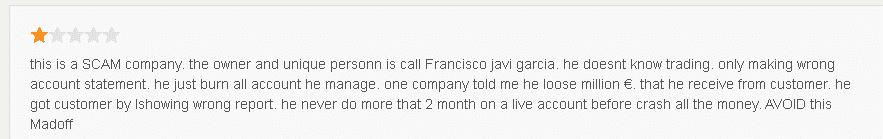 User reviews for FXMAC.