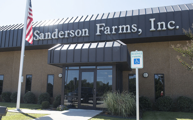 Chicken Producer Sanderson Farms Close to Agreeing on a $4.5 Billion Sale