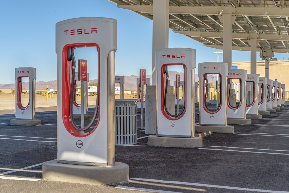 Tesla Targets More Supercharger Stations to Accommodate More EVs
