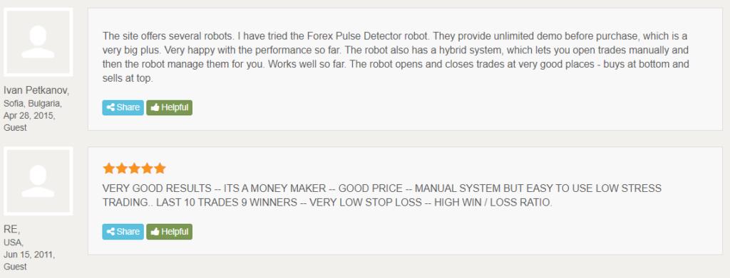 Dynamic Pro Scalper testimonials.