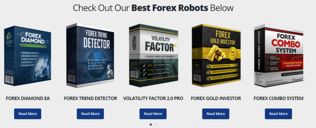 Other products of FXAutomater.